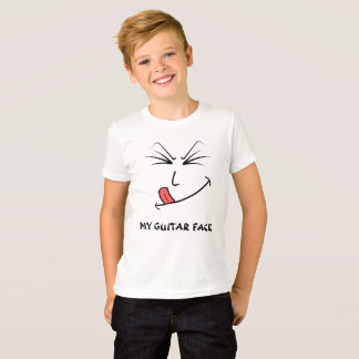 My Guitar Face Music T-Shirt