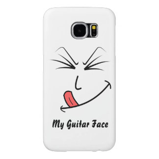 My Guitar Face Samsung Galaxy S6 Cases