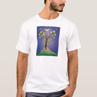 My Guitar Once Was A Tree (in color) T-Shirt