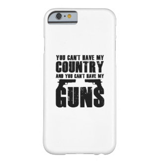 My Gun Funny 2 Amendment Cool Gift Barely There iPhone 6 Case