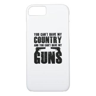 My Gun Funny 2 Amendment Cool Gift iPhone 8/7 Case