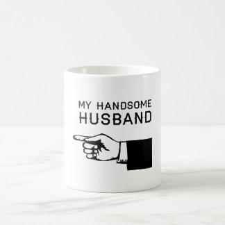My Handsome Husband Magic Mug