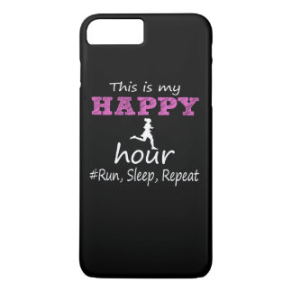 My Happy Hour! Run, Sleep, Repeat... iPhone 8 Plus/7 Plus Case
