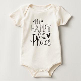 my happy place baby bodysuit