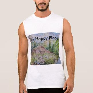 My Happy Place Sleeveless Shirt