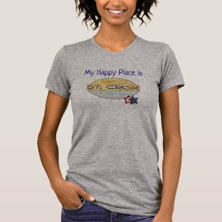 My Happy Place  - St. Croix -- T-shirt