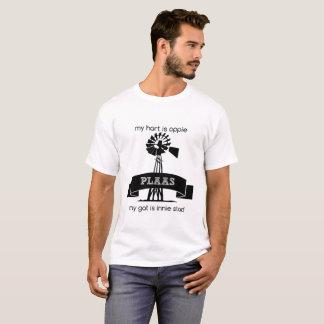 My hart is oppie plaas my gat is innie stad T-Shirt
