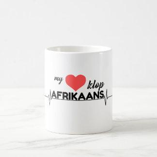 My hart klop Afrikaans Coffee Mug