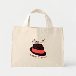 My Hat Mini Tote Bag