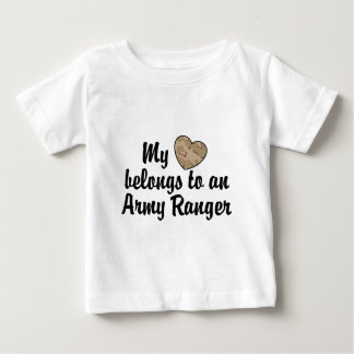 My Heart Army Ranger Baby T-Shirt