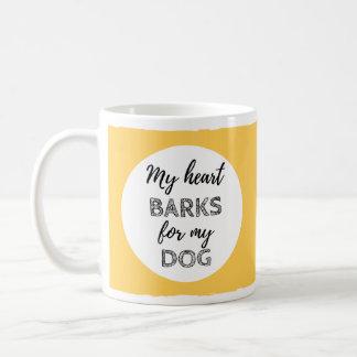 My Heart Barks For My Dog Mug