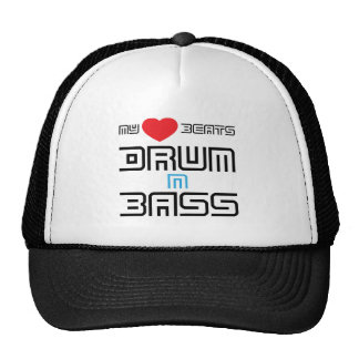 My heart Beats Drum And Bass Cap