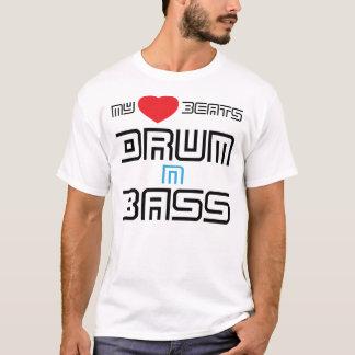My Heart Beats Drum n Bass T-Shirt