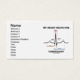 My Heart Beats For Cardiology (ECG/EKG) Business Card
