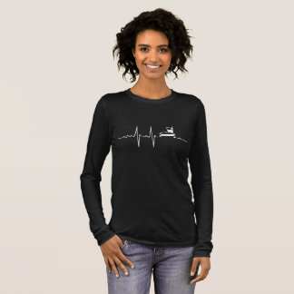 My Heart beats for Fast Food (negative) Long Sleeve T-Shirt