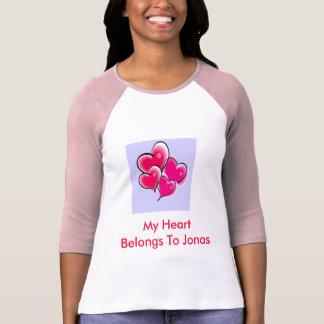 My Heart belong to Jonas T-Shirt