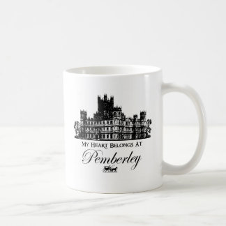 My Heart Belongs At Pemberley Coffee Mug