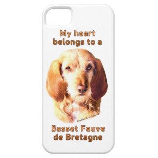 My Heart Belongs To A Basset Fauve de Bretagne iPhone 5 Case