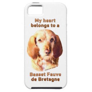 My Heart Belongs To A Basset Fauve de Bretagne iPhone 5 Cover