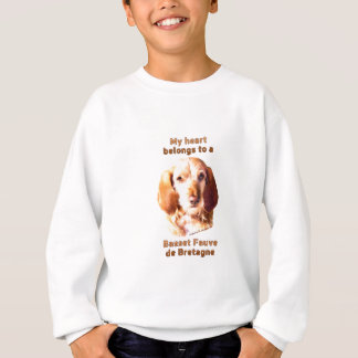 My Heart Belongs To A Basset Fauve de Bretagne Sweatshirt