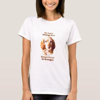My Heart Belongs To A Basset Fauve de Bretagne T-Shirt