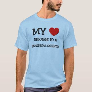 My Heart Belongs To A BIOMEDICAL SCIENTIST T-Shirt