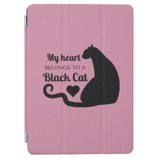 My Heart Belongs to a Black Cat iPad Air Cover