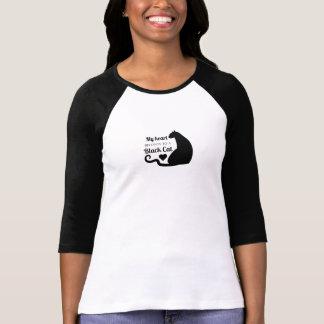 My Heart Belongs to a Black Cat T-Shirt