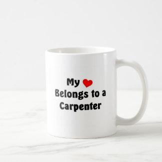My heart belongs to a Carpenter Coffee Mug