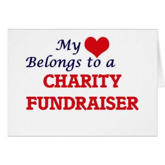 My heart belongs to a Charity Fundraiser Card