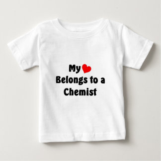 My heart belongs to a Chemist Baby T-Shirt