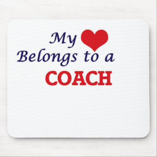 My heart belongs to a Coach Mouse Pad