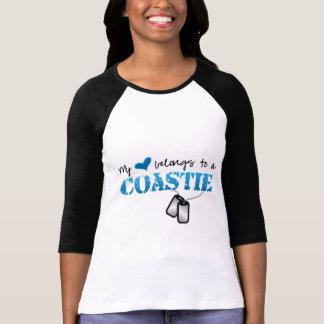 My heart belongs to a Coastie T-Shirt