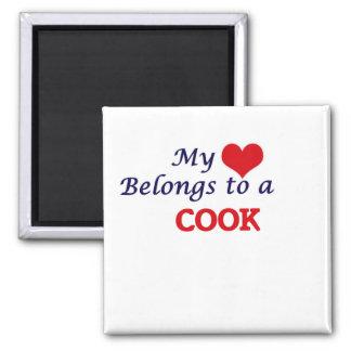 My heart belongs to a Cook Magnet