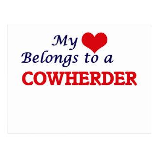 My heart belongs to a Cowherder Postcard