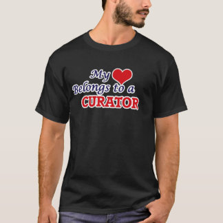 My heart belongs to a Curator T-Shirt