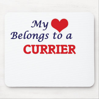 My heart belongs to a Currier Mouse Pad