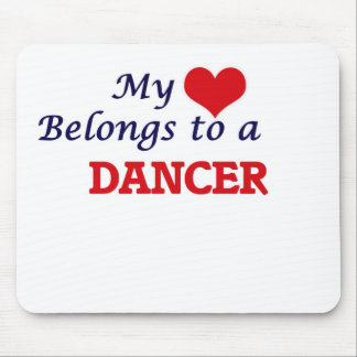 My heart belongs to a Dancer Mouse Pad