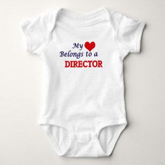 My heart belongs to a Director Baby Bodysuit