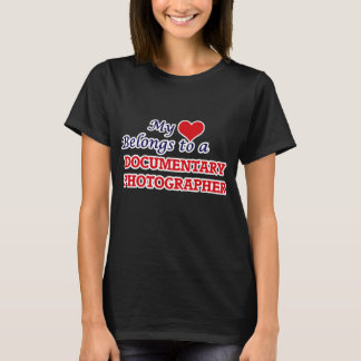 My heart belongs to a Documentary Photographer T-Shirt