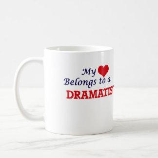 My heart belongs to a Dramatist Coffee Mug