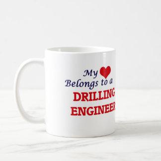 My heart belongs to a Drilling Engineer Coffee Mug