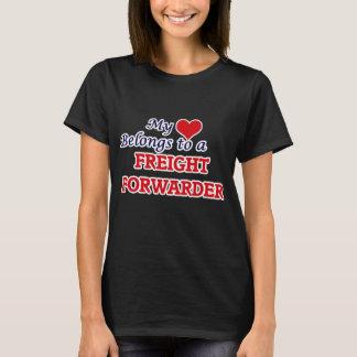 My heart belongs to a Freight Forwarder T-Shirt