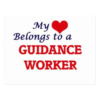 My heart belongs to a Guidance Worker Postcard
