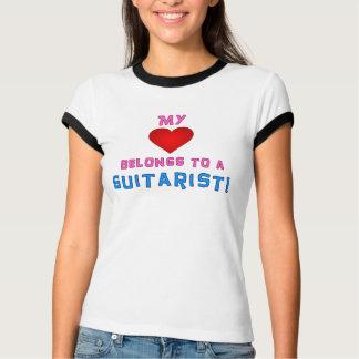 My Heart Belongs To A Guitarist T-Shirt