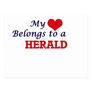 My heart belongs to a Herald Postcard
