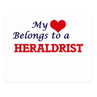 My heart belongs to a Heraldrist Postcard