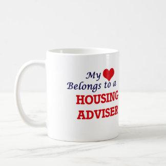 My heart belongs to a Housing Adviser Coffee Mug