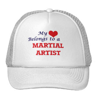 My heart belongs to a Martial Artist Trucker Hat