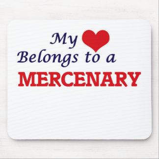 My heart belongs to a Mercenary Mouse Pad